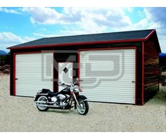 Design a Boxed Eave Garage at Metal Carports Direct