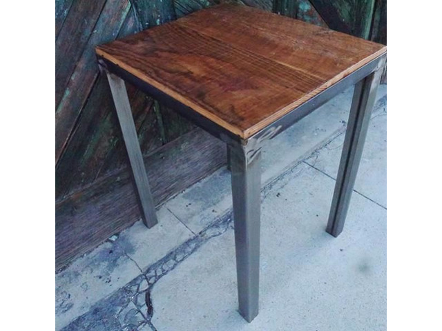 Coffee Table Made Up With Reclaimed Wood Home Furniture