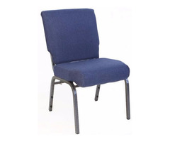 Blue Chapel Chair with Lowest Prices at Folding Chairs Tables Discount