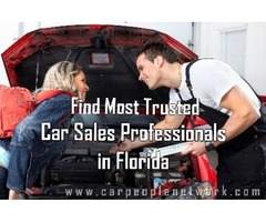 Find Reliable Car Sales Professionals in Florida at Car People Network