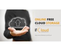 Online free cloud storage