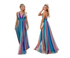 Hot sell women fashion chiffon backless strapless maxi dress