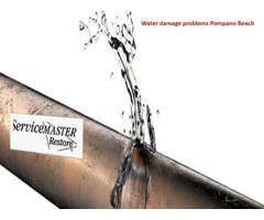 How to Get a Best Solution of Water Damage Problems in Pompano Beach?