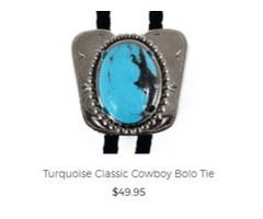 Buy Western Theme Wedding Bolo Ties