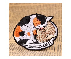 Cat Make Patches At Home