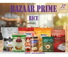 Buy Premium quality rice from our store