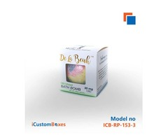 Create your design and get packaging for bath bombs
