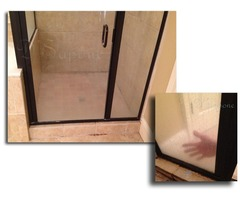 Are you fed up with cleaning your shower glass doors frequently?