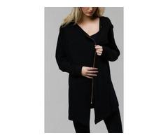 Onzie Hot Yoga Wear Zip Jacket 627 Black