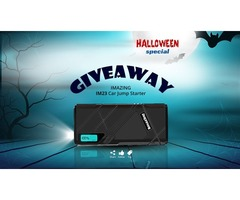 Halloween Special Giveaway!! Enter to Win Imazing IM23 Jump Starter