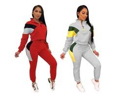 Hessz Design Your Own Tracksuit 2018 Custom Design Sport Tracksuit for Women