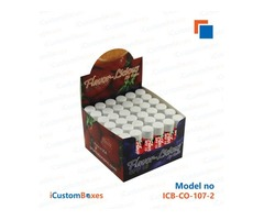 Get suiteable designs for Custom Lip balm boxes in USA