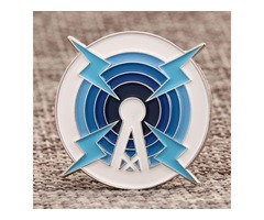 Signal Tower Enamel Pin