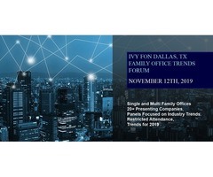 The Ivy Family Office Network (IVYFON) - Full-Day Seminar on November 12th