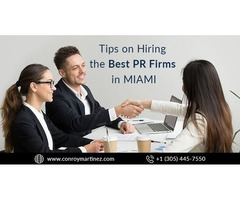 PR Firms in Miami And Pr Companies Miami