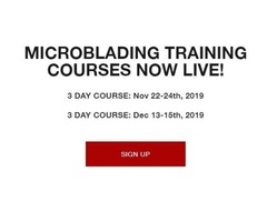 Live Microblading Training Course
