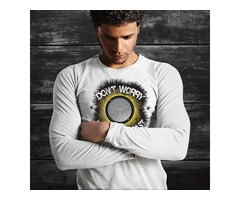 Buy trending long sleeve t shirts on festivals at an affordable price.