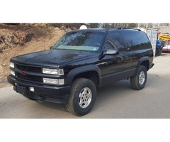 1999 CHEVROLET TAHOE SPORT 2DR 2 Door 4WD 4x4 CLEAN ORIGINAL