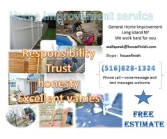 Painting drywall carpentry masonry wallpaper flooring and more