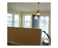 we are the best painters, painting your house with straight line looks nice