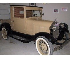 1929 Ford Model A closed cab pickup frame up restoration 29,900. OBO | free-classifieds-usa.com