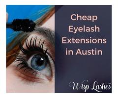 Cheap Eyelash Extensions in Austin