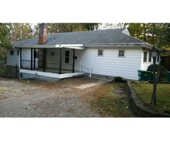 4 bedroom ranch with large fenced lot!