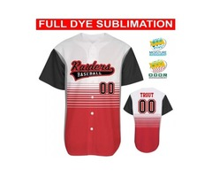 Custom Baseball Jerseys USA