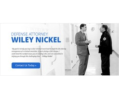 Criminal Lawyers Raleigh NC |The Law Offices of Wiley Nickel