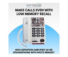 Buy High Definition Amplified Speakerphone with Photo Memory