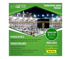 Thanksgiving November Umrah Package