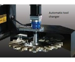 Automatic tool changer and Automatic bar feed systems