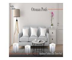 Ottoman Poufs | Buy Ottoman Poufs USA
