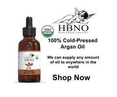 Buy 100% Cold-Pressed Argan Oil at Wholesale Price