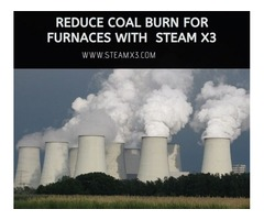 Reduce Coal Burn for Furnaces with Steamx3
