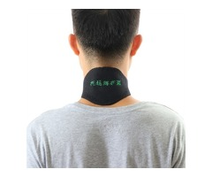 Tourmaline Self Heating Thermal Magnetic Therapy Thermal Neck Pad Wrap Support Brace Massage Belt