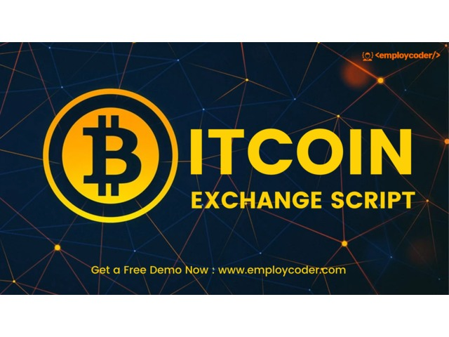 Bitcoin Exchange Script Provider  | free-classifieds-usa.com