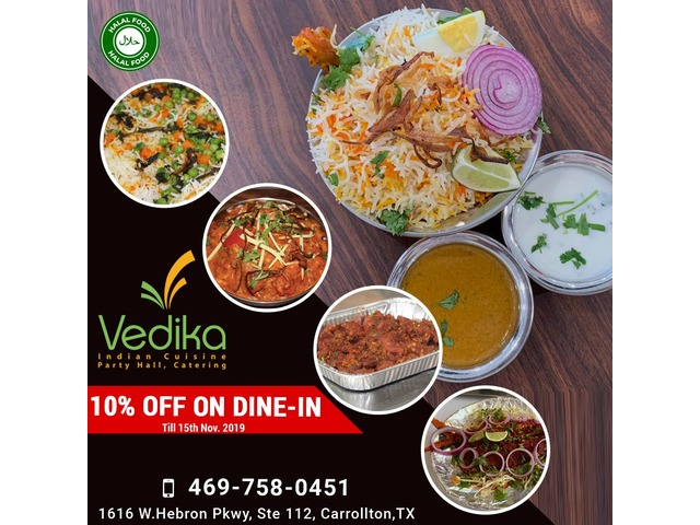 Vedika Indian Cuisine Party Hall, Catering | free-classifieds-usa.com