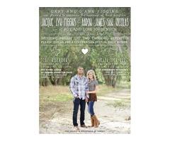 LDS Wedding Announcements
