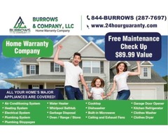 Get Protected Now with a Home Warranty Plan from Burrows & Company
