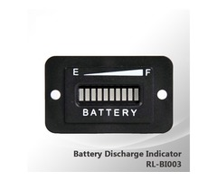 48V Golf Cart LED Battery Status Indicator Meter Gauge for EZGO Club Car Yamaha