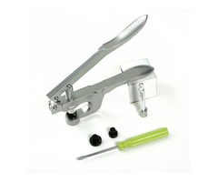 Plastic Snap Fastener Installation Tools Hand Pressure Pliers