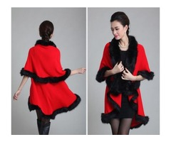 Women Winter Poncho