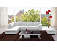 Buy Italian Leather Sectional Sofa - Get.Furniture