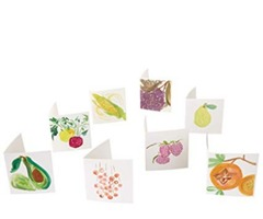 Buy produce bliss notes Fruit and Vegetable Cards - 50 (blank inside)