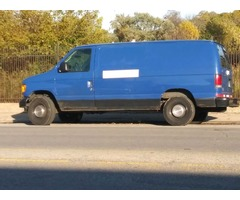 Ford Econoline 2003 E250 Great Condition Cargo Work Van For Sale