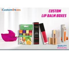 Get Eco Friendly custom lip balm boxes