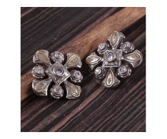 Oxidized Studs Earrings for Women and Girls | Aadhya Trends