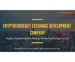 Cryptocurrency Exchange Development Company - Employcoder