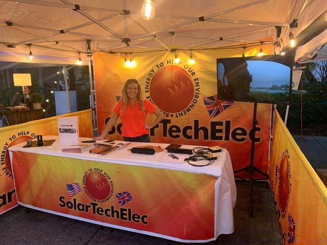 Big Solar Exhibition at Safety Harbor Florida Wine Festival – Solar Tech Elec | free-classifieds-usa.com